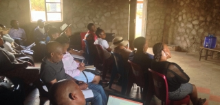Hydroconseil and NHA in Lesotho for a workshop